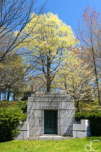 McLavchlan Mausoleum, April 2017.