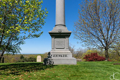 Wade Family Monument, April 2017.