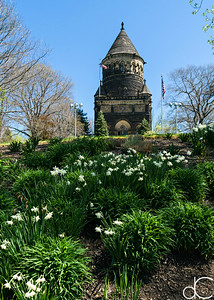 President James A. Garfield Memorial, April 2017.