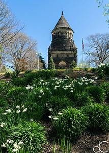 President James A. Garfield Memorial, April 2017.
