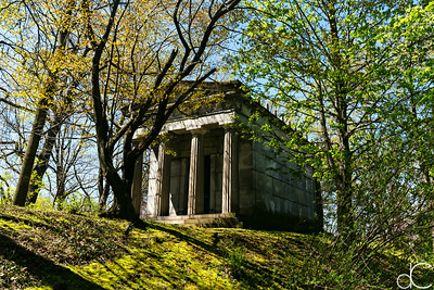 Hanna Mausoleum, April 2017.