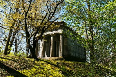 Hanna Mausoleum, April 2017.