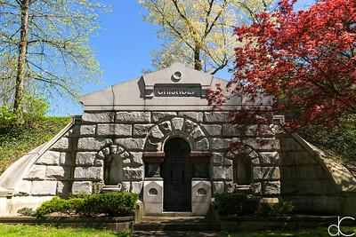 Chisholm Mausoleum, April 2017.