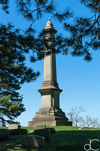 Hurd - Babcock Family Monument, April 2017.