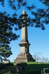 Hurd - Babcock Family Monument, April 2017.