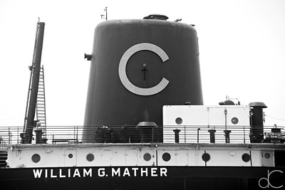 The Steamship William G. Mather, Cleveland, July 7, 2019.