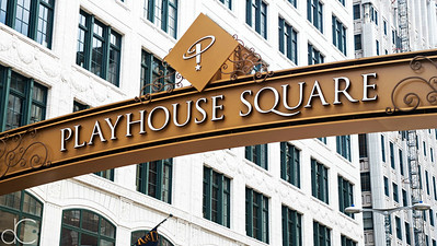Playhouse Square District, Cleveland, July 7, 2019.