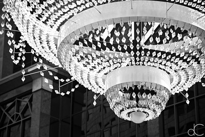 GE Chandelier, Playhouse Square, Cleveland, July 7, 2019.