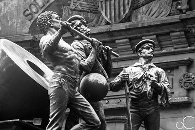 Soldiers' and Sailors' Monument, Cleveland, July 7, 2019.