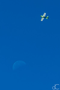 And Rob Holland Flew Over the Moon, Cleveland National Air Show, 2015.