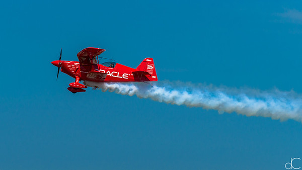 Smoke Eddies, Sean D. Tucker, Cleveland National Air Show, 2015.