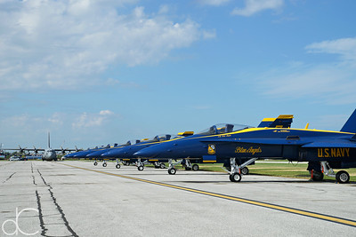 US Navy Blue Angels, Cleveland National Air Show, 2018.