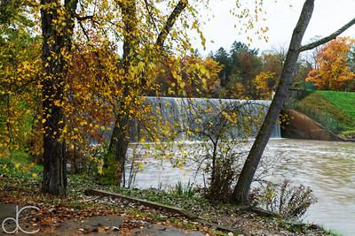 Hinckley Lake Spillway, Hinckley Reservation, November 2018.