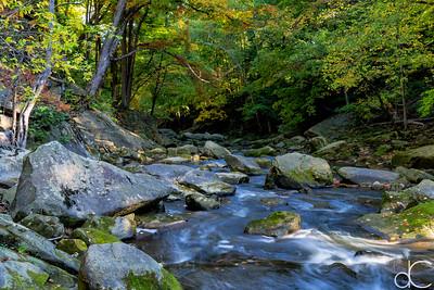 Berea Falls, Cleveland Metroparks Rocky River Reservation, October 2015.