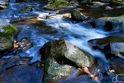 East Branch of the Rocky River at Berea Falls, Cleveland Metroparks Rocky River Reservation, October 2015.