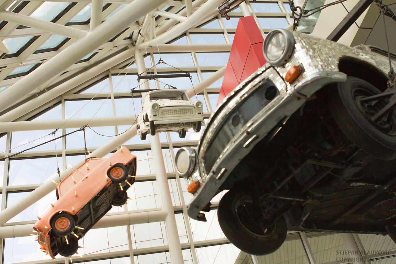 Rock Halls Ceiling Cars