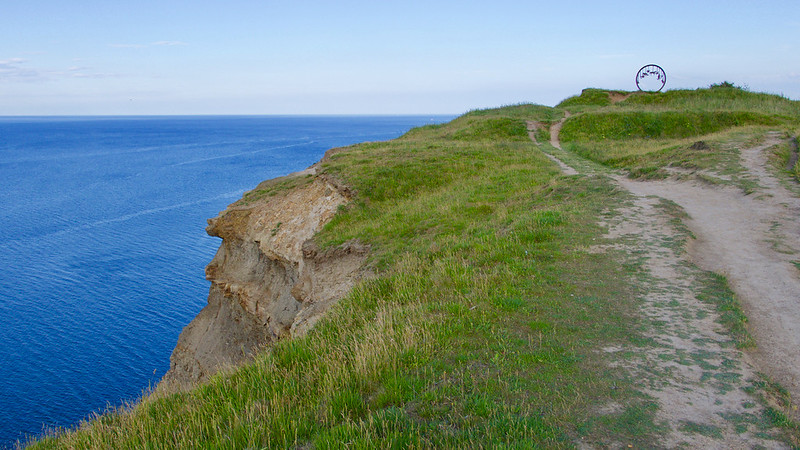 Cleveland Way (path) between Easington and Saltburn-by-the-Sea