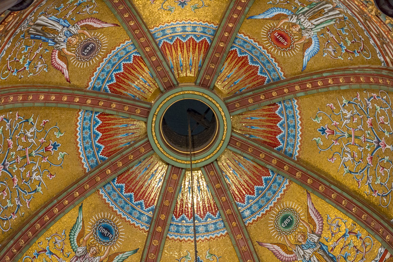 Ceiling of Garfield Memorial