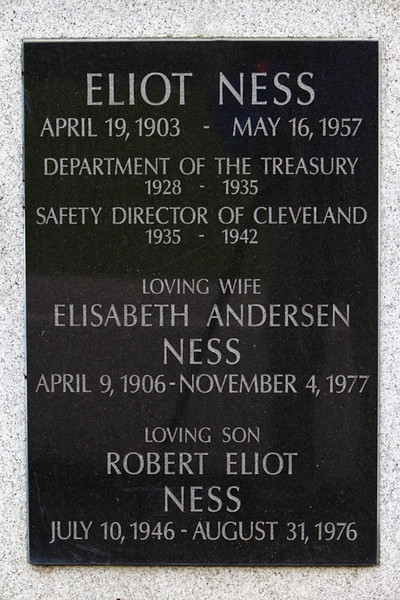 Eliot Ness Memorial