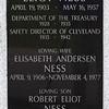 Eliot Ness Memorial