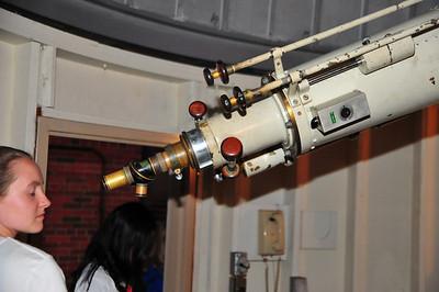 Back of telescope.