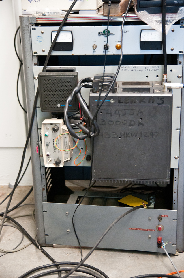 Our repeater, in cooperation with LEARA.