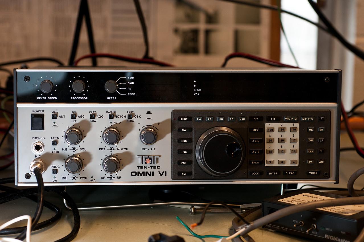 Our HF transceiver.