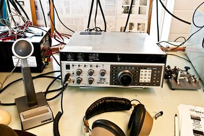 Our HF radio.