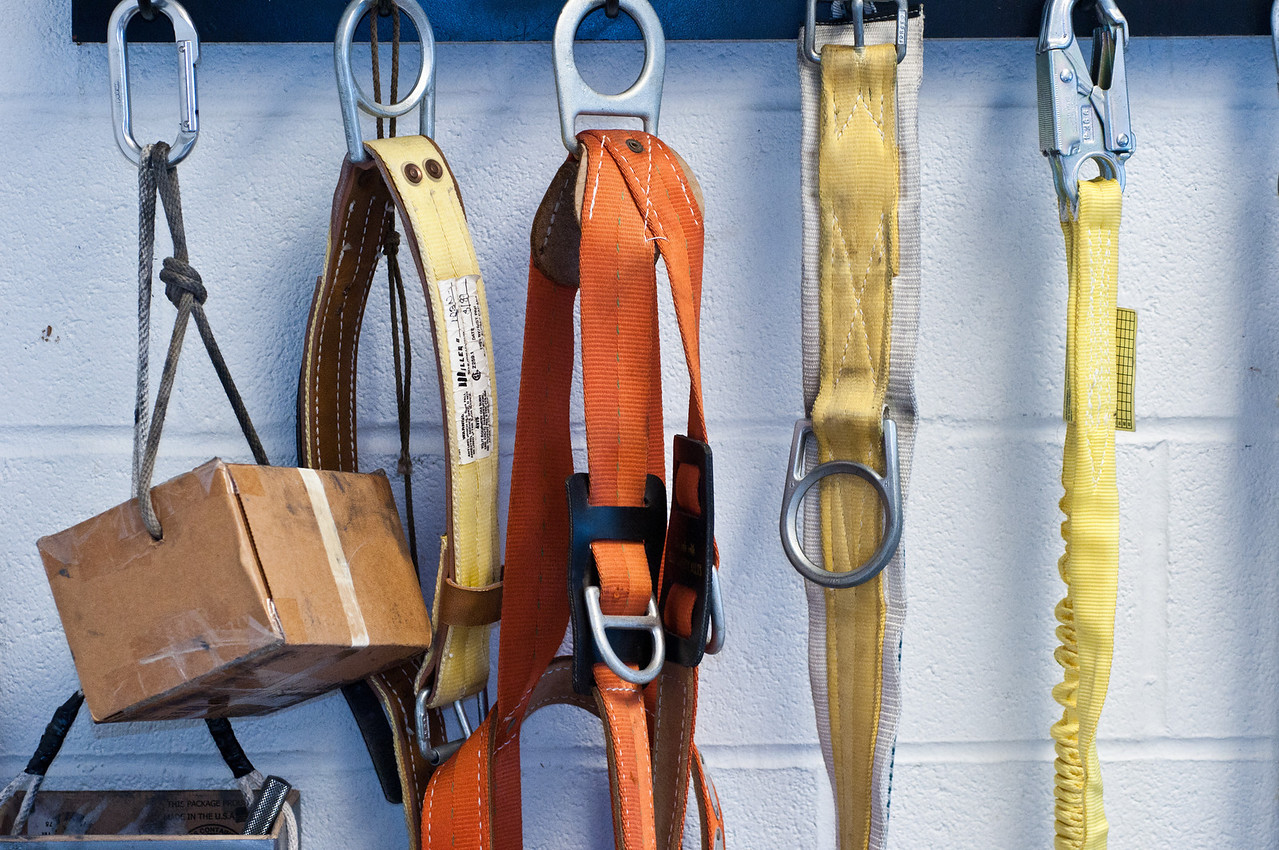 Detail of old harnesses.