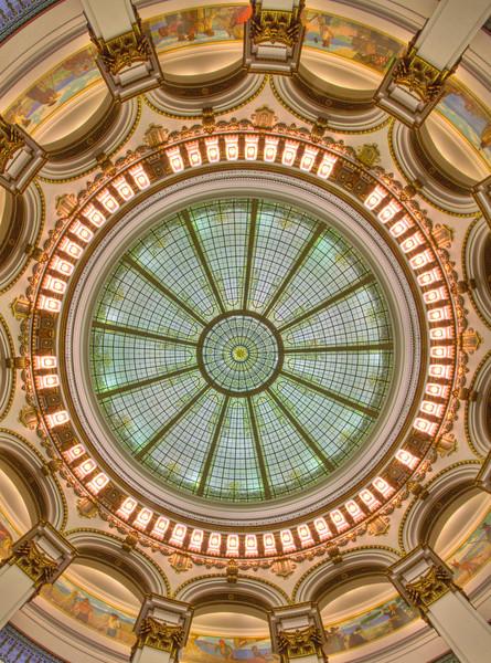View of Rotunda Ceiling
