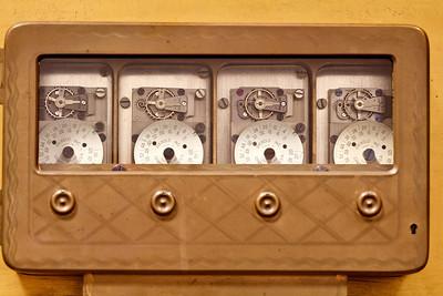 Timers in main vault door