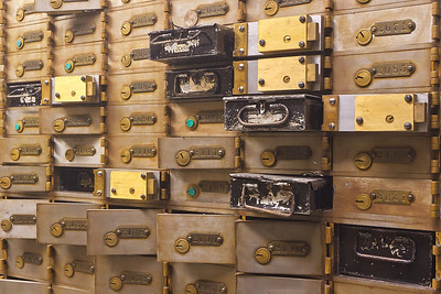 More Safety Deposit Boxes