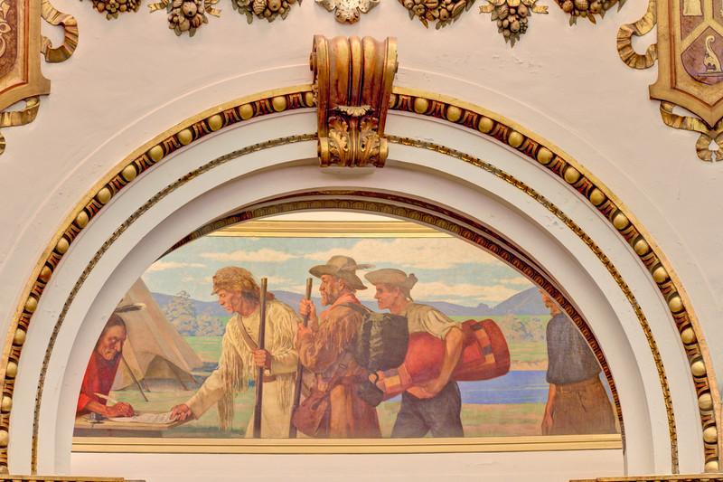 Francis Millet Mural