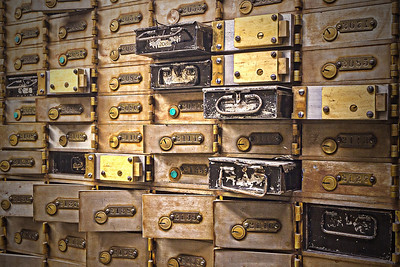 Safefy Deposit Boxes