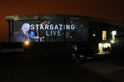 BBC Stargazing Live, Simon Langton School - 8th Jan 2013