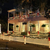 Christmas in downtown St. Marys, GA.<br /> Spencer House Bed & Breakfast.