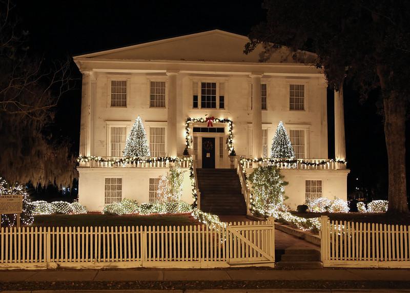 Christmas in downtown St. Marys, GA<br /> Orange Hall.
