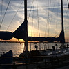 Sunset on Sailboats 7266 128