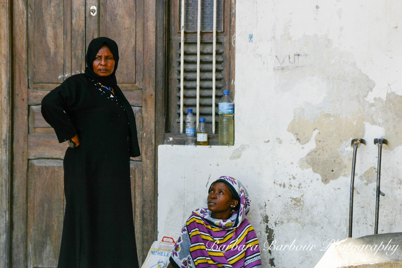 Two women in Zanzibar