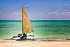 Boat on Zanzibar Coast
