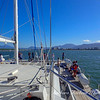 View of Cairns from yacht.