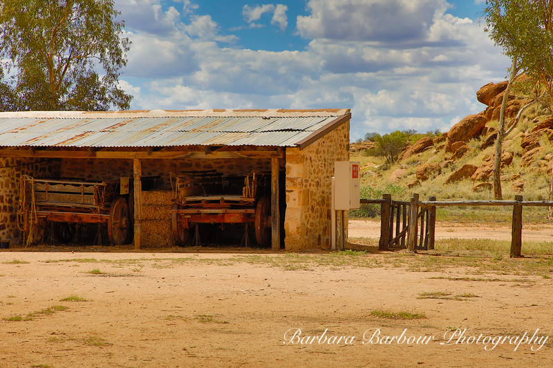 Vintage Buildings, Telegraph post station