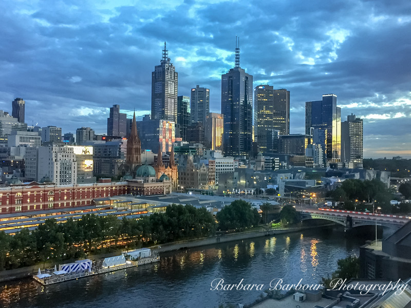 Dawn in Melbourne