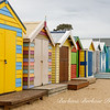 Beach Boxes in Brighton, Australia