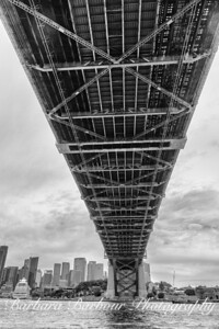 View from under the Sydney Harbor Bridge