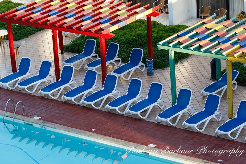 Poolside, at Hotel Jagua, Cienfuegos