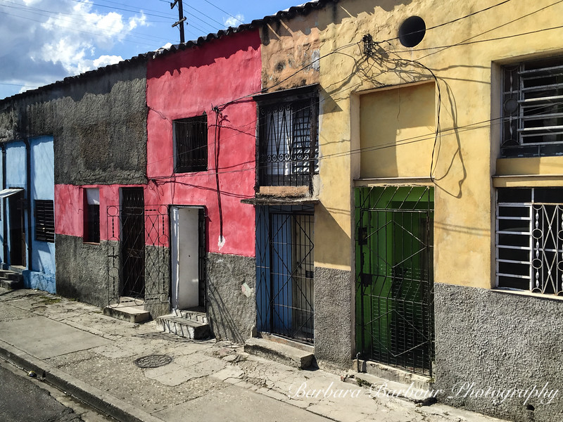 Colorful street in Havana, Cuba