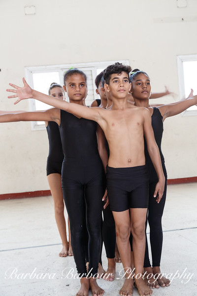Dancers at Benny More Art School