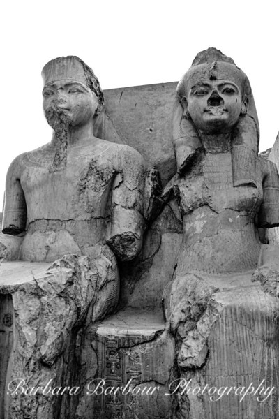 King Tut and Wife, Temple of Luxor, Egypt