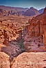 Hike down from the Monestary in Petra, Jordan